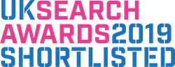 UK Search Awards Shortlisted Logo