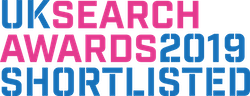 2019 UK Search Awards logo