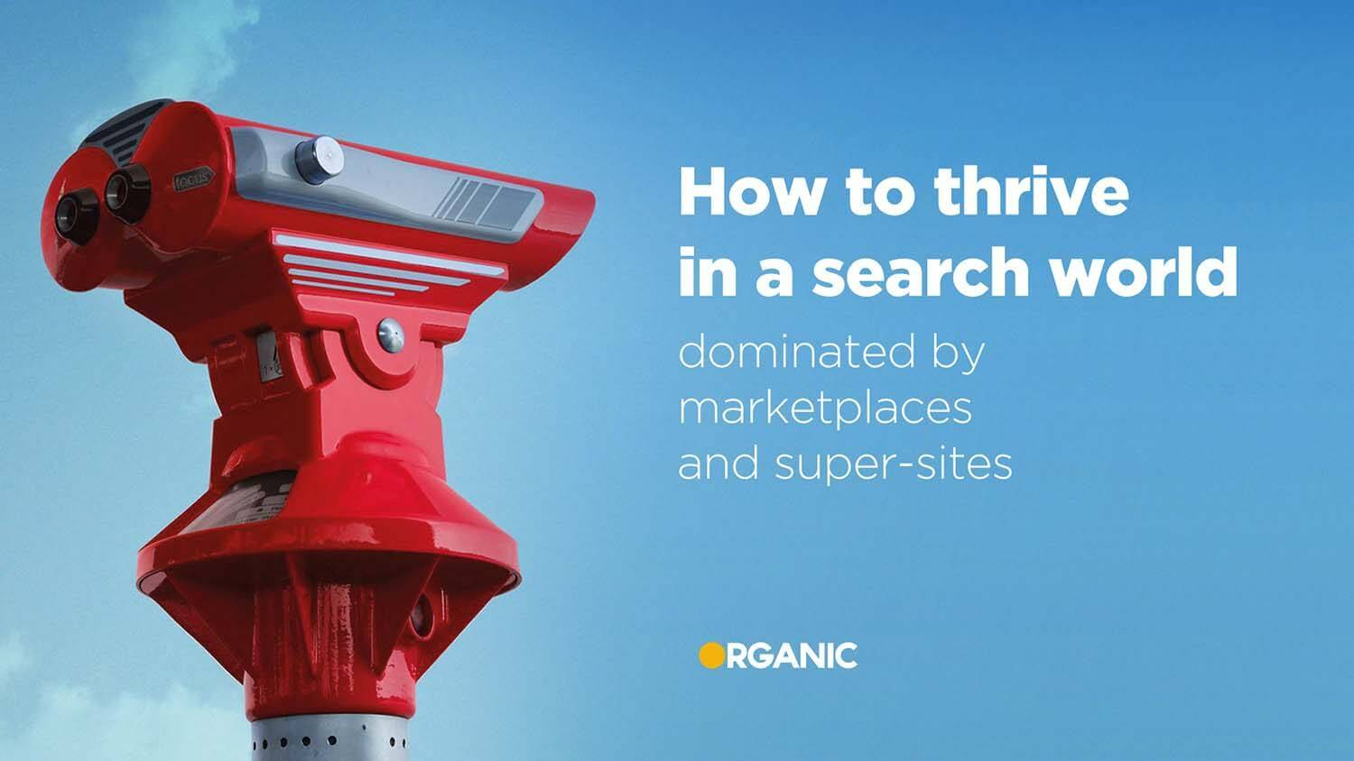 How to thrive in a search world dominated by market places and supersites graphic